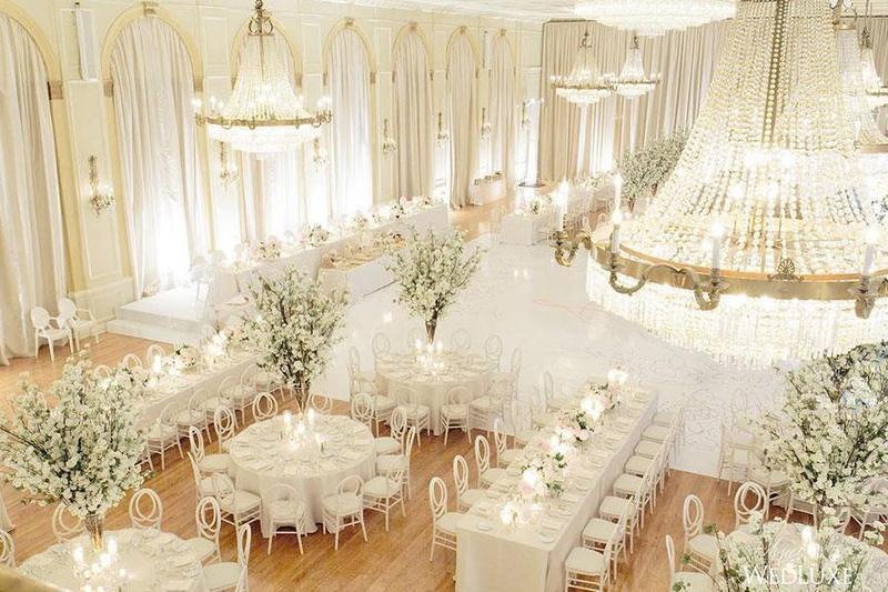Top 3 sắc màu được ưa chuộng nhất khi tổ chức tiệc cưới lưu động