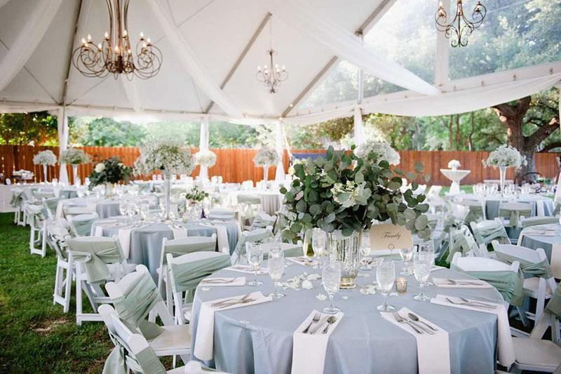 Bật mí các tông màu pastel nhẹ nhàng tô điểm cho tiệc cưới chay tại nhà