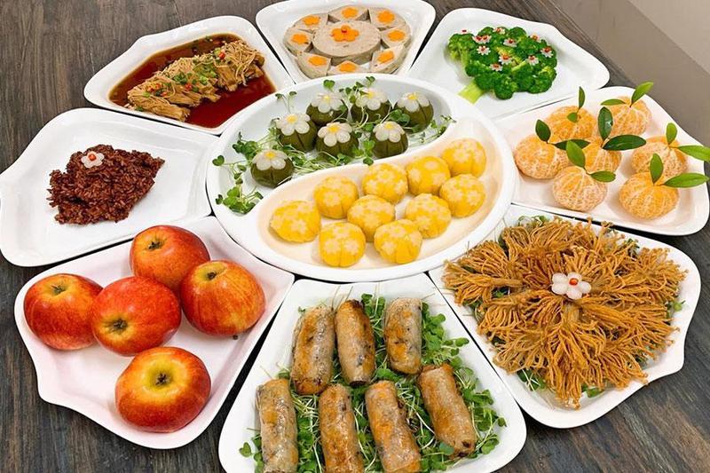 Chọn thực đơn nấu tiệc chay quận 3 dinh dưỡng cho mùng 1 Tết